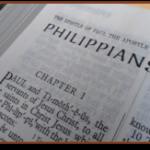Philippians title page