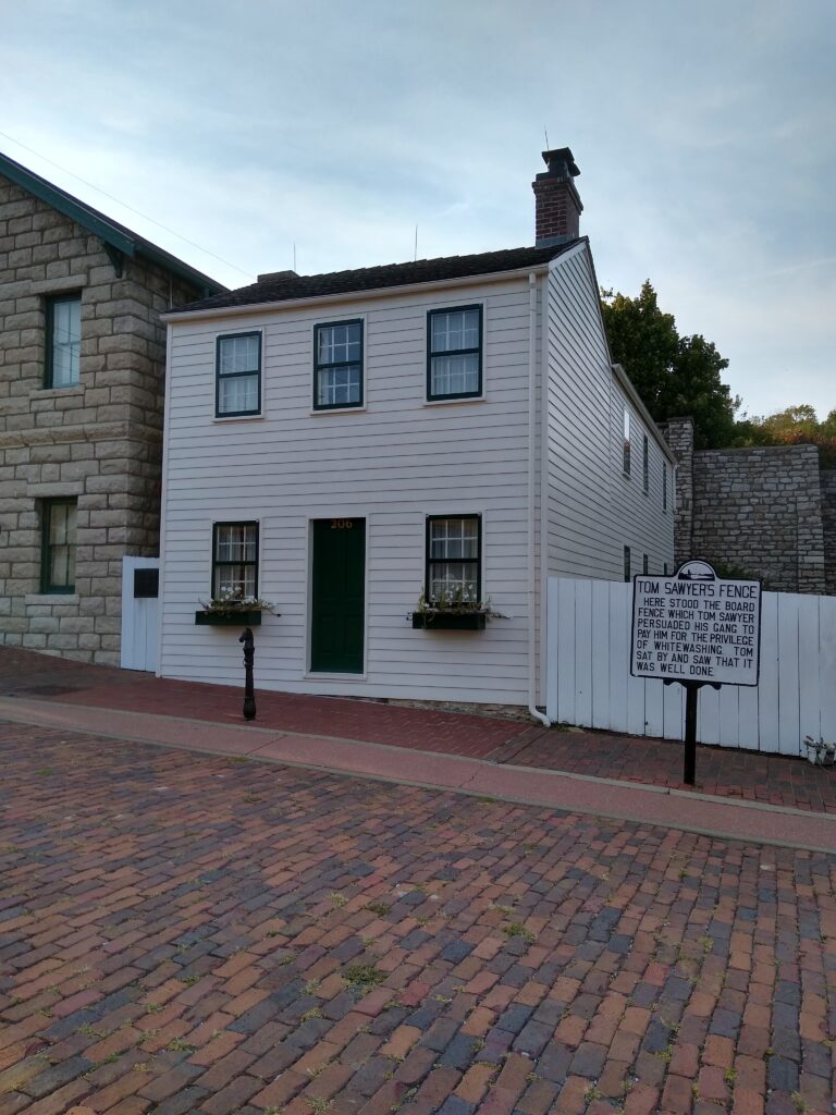 Mark Twain Childhood Home - Hannibal, MO