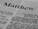 Matthew title close up