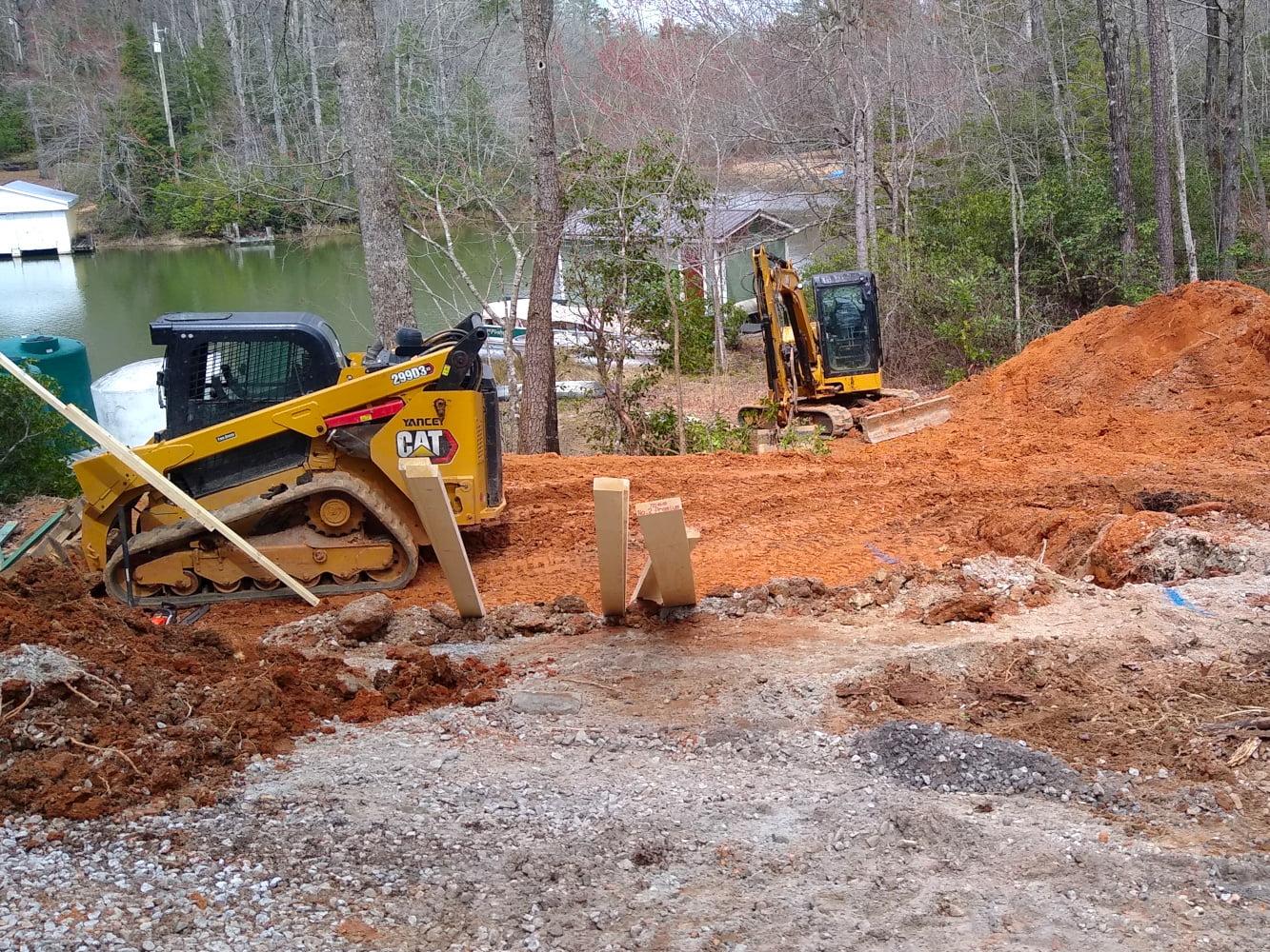 Basement floor excavation complete