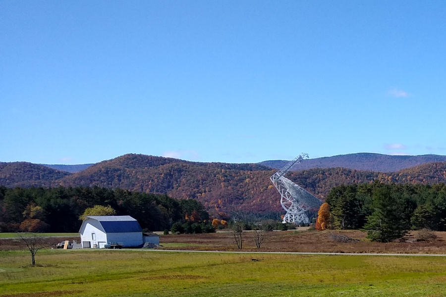 Byrd Green Bank telescope