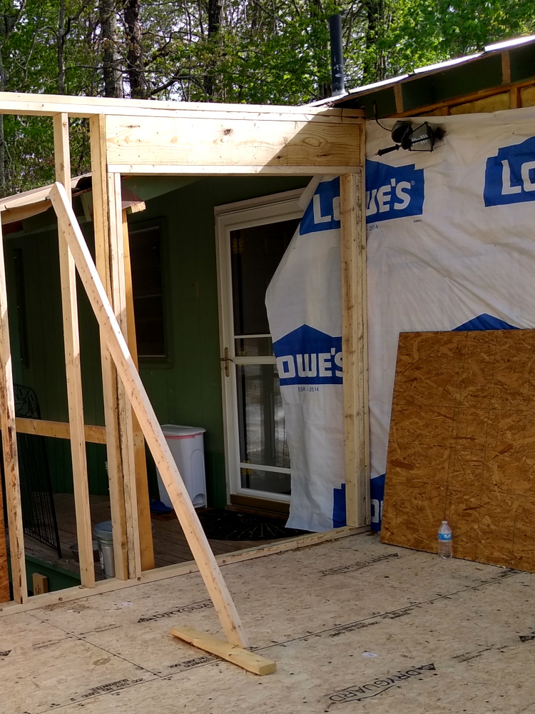 New front entry framing