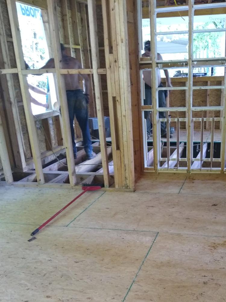 New bedroom floor