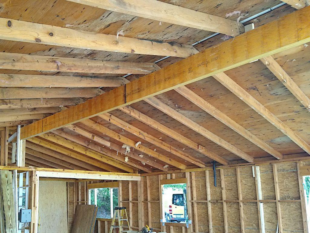 New ridge beam