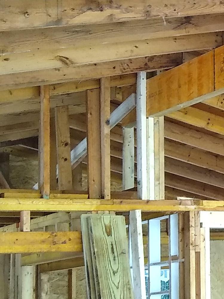Ridge beam rear support