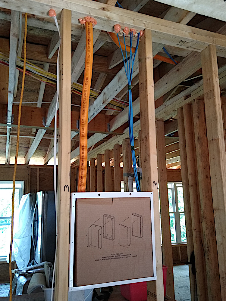 Hall Closet Comm Wiring