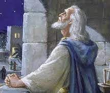 Painting of Daniel's Prayer